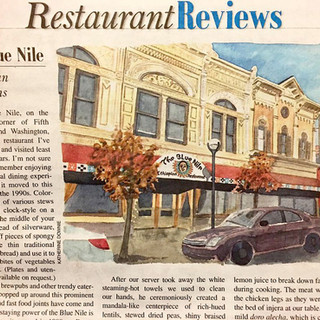 The Blue Nile in Paper