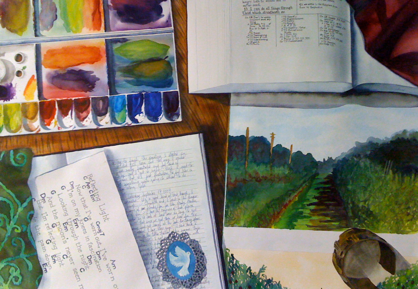 On My Table Bible 2