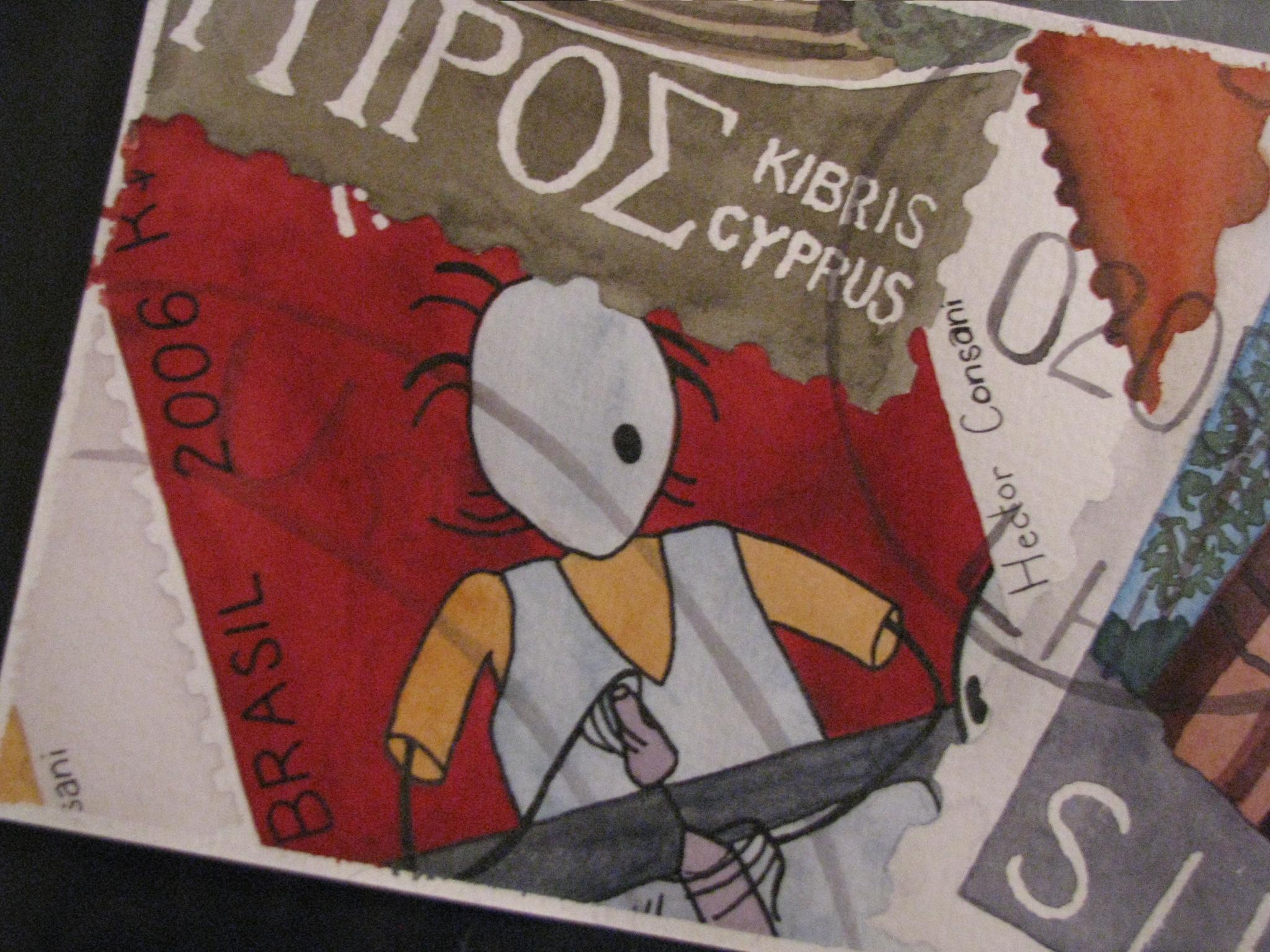 Postcard Stamp 2