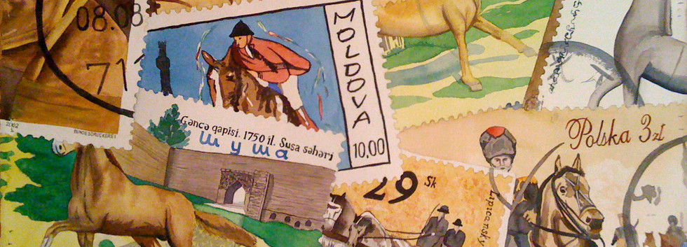 Horse Stamps