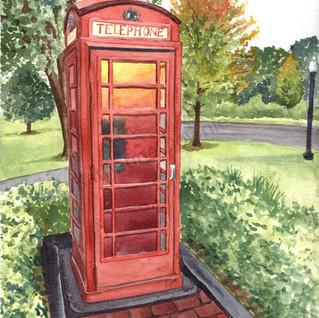 Phone Booth on Mackinac Island