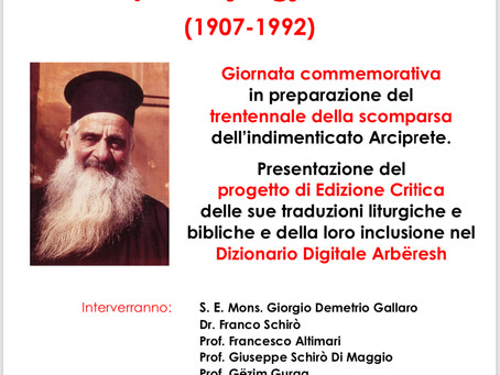 Papas Gjergj Schirò: giornata commemorativa