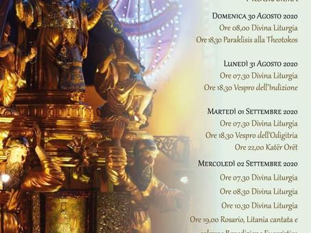 Festeggiamenti in onore di Maria SS. Odigitria