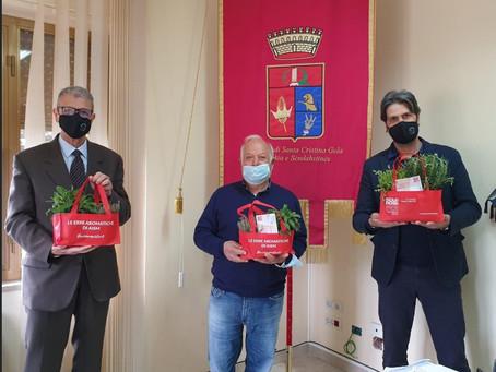 Profumo di Solidarietà a Santa Cristina Gela con AISM