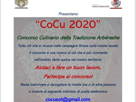 CoCu 2020 Concorso culinario della tradizione Arbëreshe