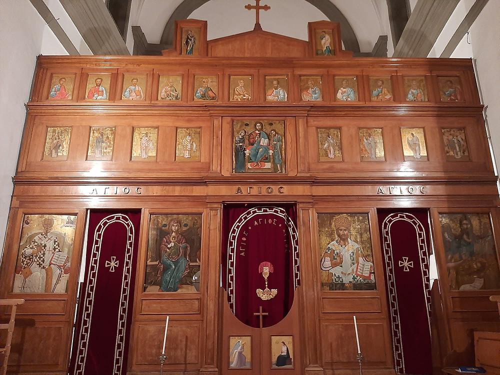icone chiesa di San Nicola in Piana degli Albanesi
