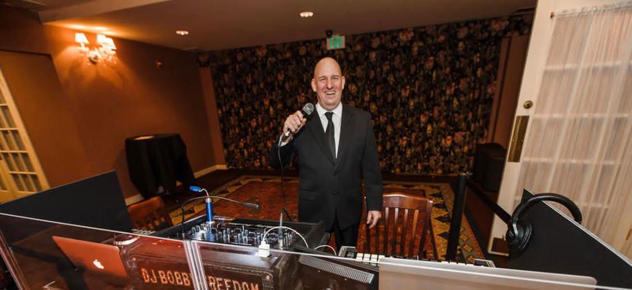 Bobby at DJ Booth