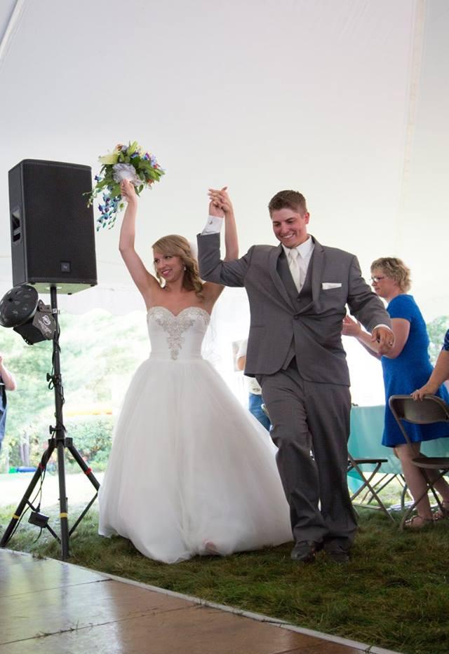 Happy Newlyweds Brinteny & Patrick