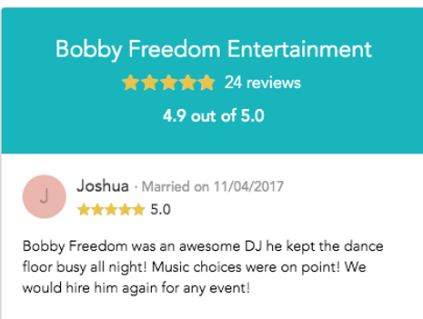 nh wedding dj reviews