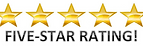 five star rated dj's