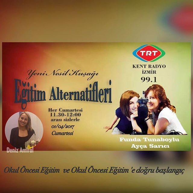 Okul Kurucumuz Deniz Amiral Trt Kent Radyo İzmir de Ayça Sarıcı ve Funda Tunaboylu'nun  hazırlayıp s