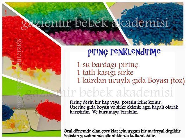#pirinc #renklendirme  #okulöncesietkinlik  #okulöncesietkinlikleri  #sensoryplay  #montessori #anao