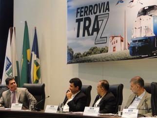 Prefeito entra na campanha por trilhos de ferrovia em Cuiabá