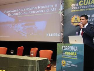 Para ferrovia chegar em Sorriso-MT empresa terá que investir R$ 5 bilhões em melhorias na ferrovia j