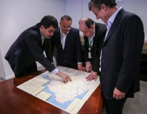 Pedro Taques consegue compromisso para trazer ferrovia a Cuiabá