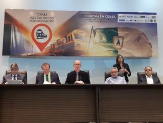 """""""Perspectiva da chegada do trem à Baixada Cuiabana é concreta"""""""
