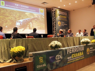 Avanços para concretização da extensão da Ferrovia Senador Vicente Vuolo são apresentados em reunião