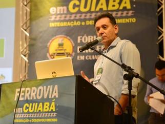 Leitão defende a chegada dos trilhos da ferrovia até Cuiabá