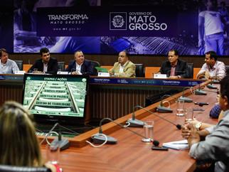 Taques defende chegada da Ferrovia até Cuiabá junto ao Governo Federal
