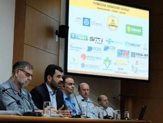 MT defende concessão à Rumo ALL mais 30 anos para garantir trilhos em Cuiabá