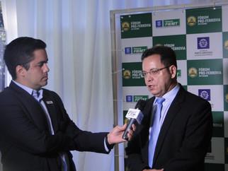 Botelho destaca crescimento da produção na Baixada e defende chegada da ferrovia a Cuiabá