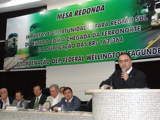 Francisco Vuolo atesta que Cuiabá atuou para ferrovia em Roo