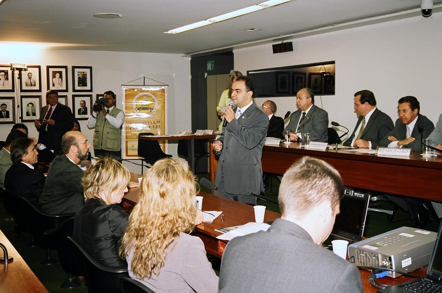 Audiência Câmara dos Deputados Bsb