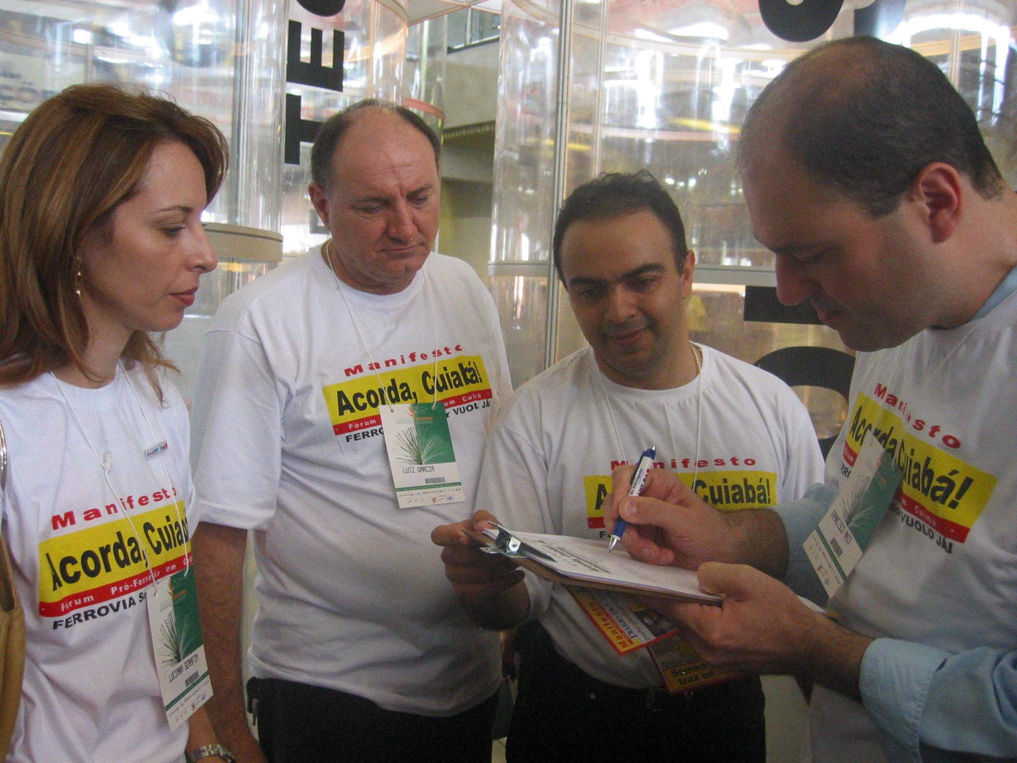 Manifesto Fórum Acorda, Cuiabá! 1
