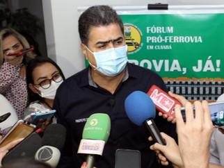 Pinheiro diz que mudança do nome da ferrovia é covardia com a memória do Senador Vuolo
