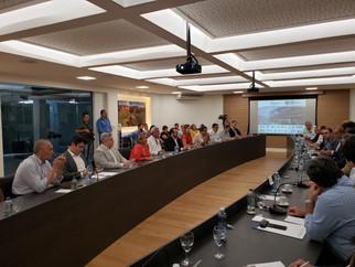 Autoridades se reúnem para discutir a expansão da Ferrovia Senador Vuolo