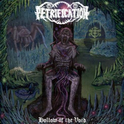 Petrication - Hollow of the Void LP (Clear Green/Black Haze Vinyl)
