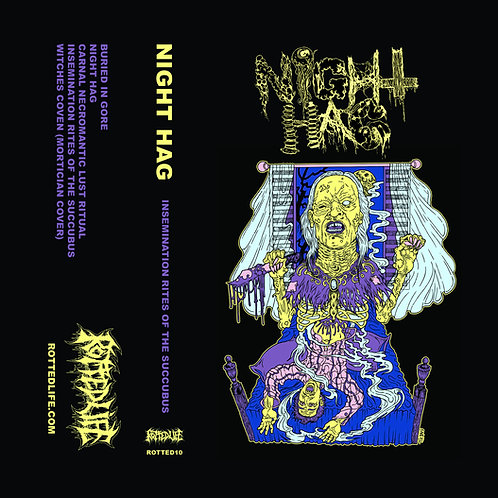 Night Hag - Insemination Rites of the Succubus CS