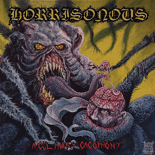 Horrisonous - A Culinary Cacophony CD