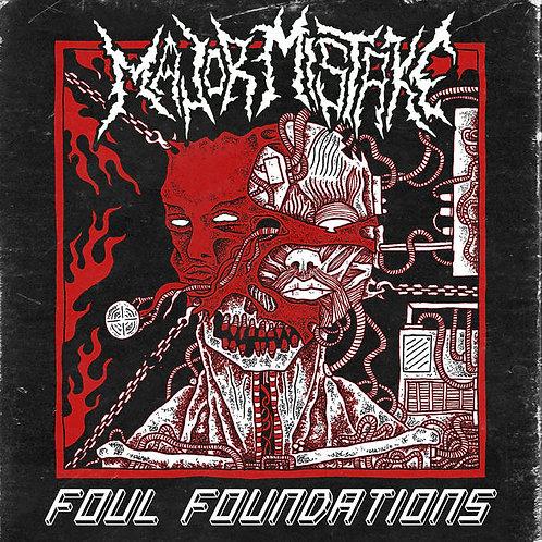 Major Mistake - Foul Foundations CD