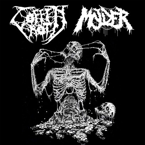 "Coffin Rot/Molder Split 12"" (Black Vinyl Edition)"