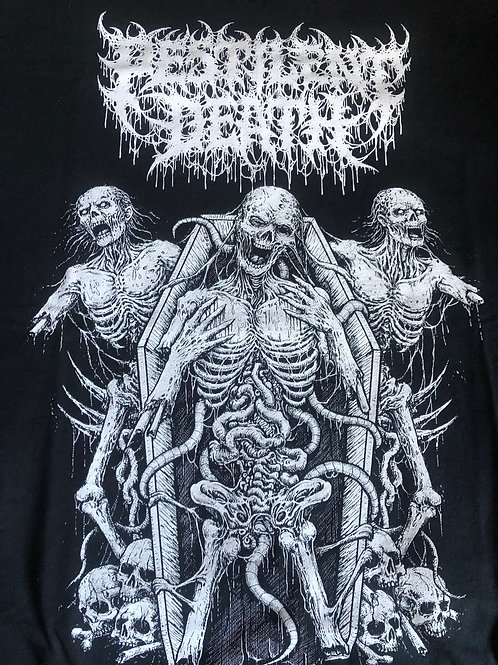 Pestilent Death - Putrid Vaticination Shirt (Large)