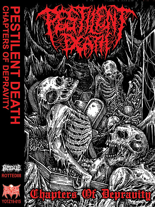 Pestilent Death - Chapters of Depravity CS