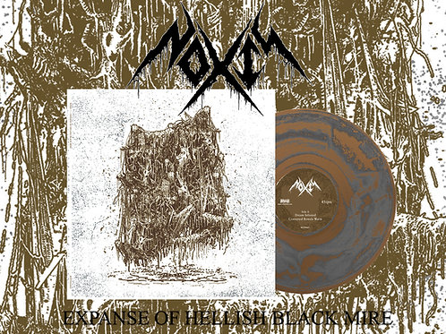 """Noxis - Expanse of Hellish Black Mire 10"""" (Gold/Silver Swirl Edition)"""