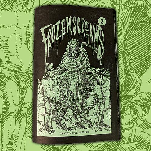 Frozen Screams - Vol. II Zine (Sewer Slime Green Edition)
