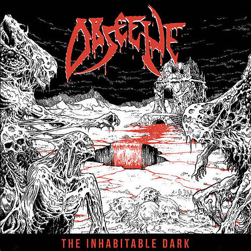 Obscene - The Inhabitable Dark LP