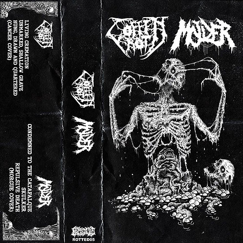 Coffin Rot/Molder Split CS