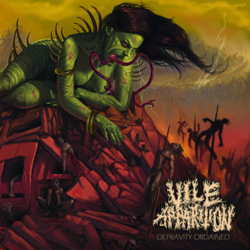 Vile Apparition - Depravity Ordained LP