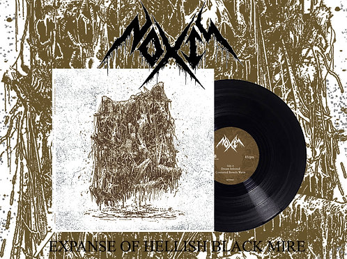 "Noxis - Expanse of Hellish Black Mire 10"" (Black Vinyl Edition)"