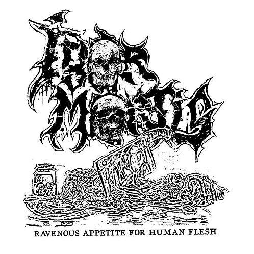 Igor Mortis - Ravenous Appetite For Human Flesh CS