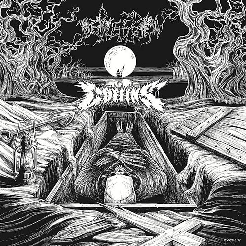Coffins/Depression - Split CD