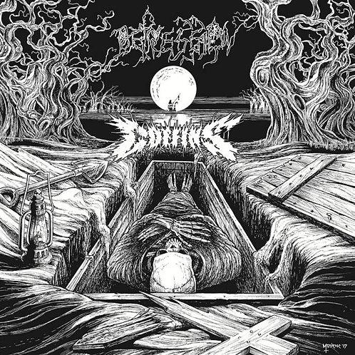 Coffins/Depression Split LP (Black Vinyl)