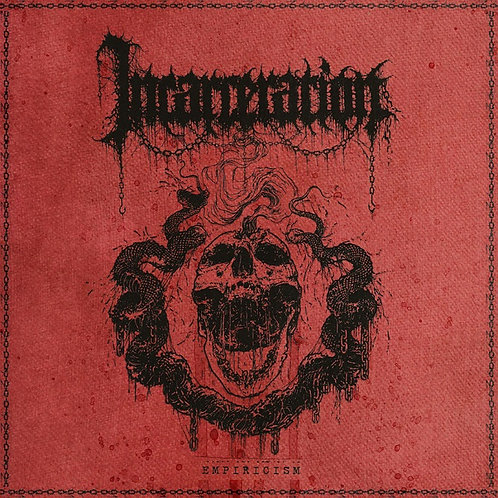 """Incarceration - Empiricism 12"""" EP (Red/Black Smoke Vinyl Pre-Order)"""