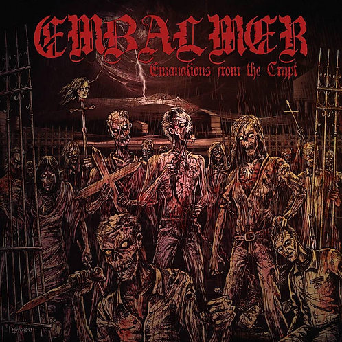 Embalmer - Emanations From the Crypt CD (Digibook w/ Bonus Tracks)