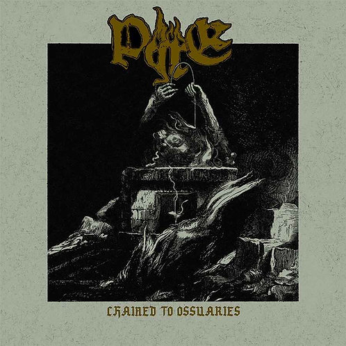Pyre - Chained to Ossuaries LP (Gold Vinyl Version)