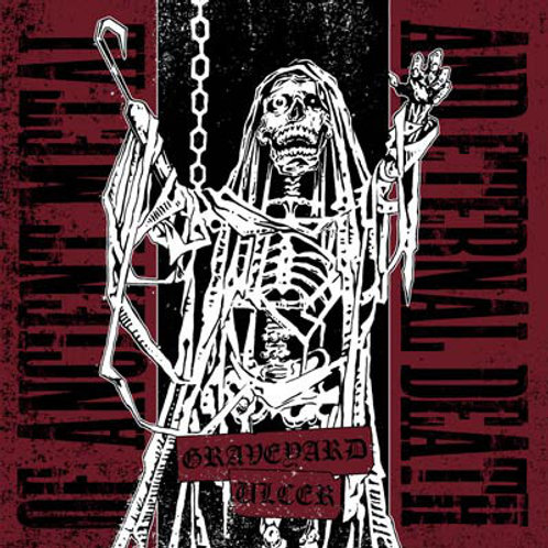 Graveyard/Ulcer - Of Ancient Metal And Eternal Death Split 7""